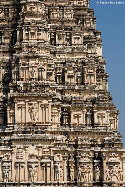Architecture of Hampi by subashcr