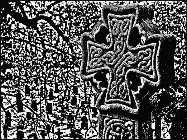 Celtic Cross Gravestone by mudge