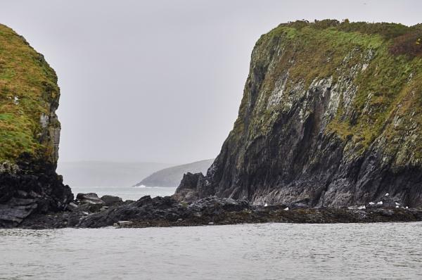 Abercastle Pembrokeshire by Meditator