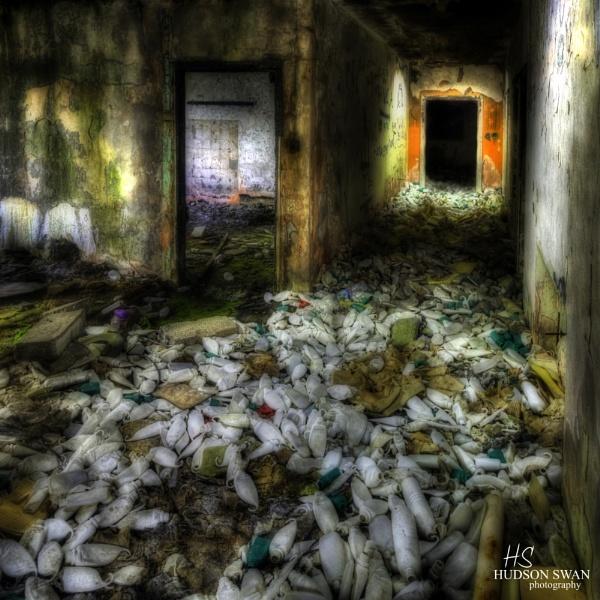 Derelict Shampoo Factory by sunsetskydancer
