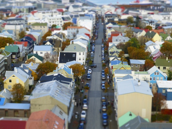 I love the colours of Reykjavik by pughs