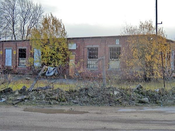 Old Coal Mine Buildings by Gypsyman
