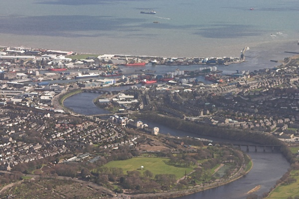 Aberdeen from the air by ericjlaw
