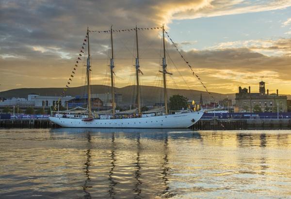 Belfast Tall Ship by fisherwick40