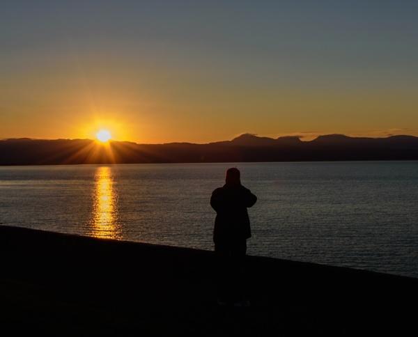Sunrise over Harlech by cegidfa