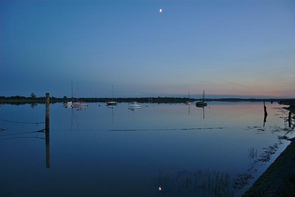 Heybridge Basin After Sunset by ttiger8