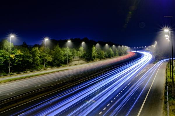 M6 Light Trail by dlm71