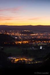 Sunset over Stirling