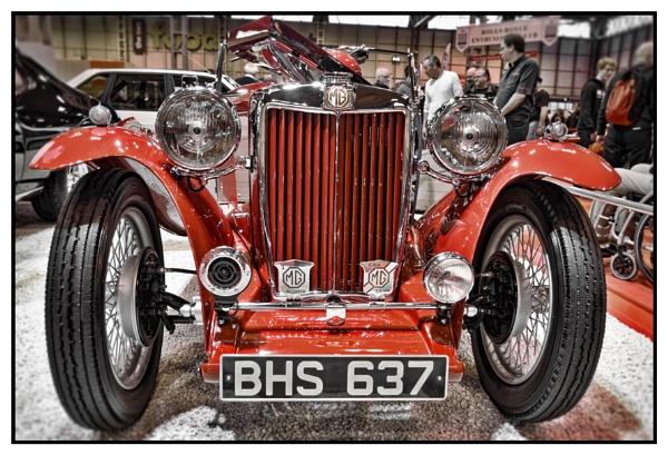 A Classic MG by rrathbone