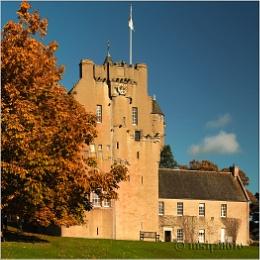 Autumn, Crathes castle