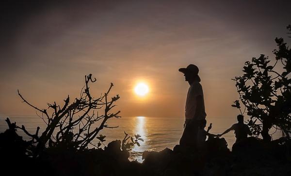 Sunset Spectators by Irishkate