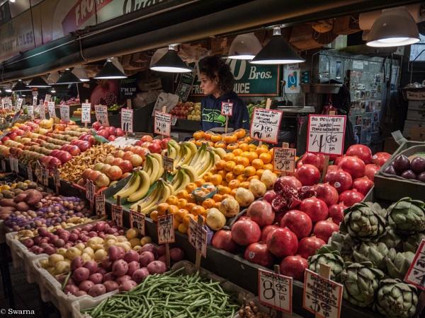 Somewhere in Seattle, WA -Pike Place Market by Swarnadip