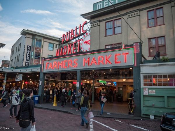 Farmers Market, Seattle by Swarnadip