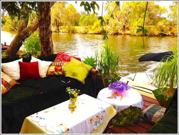 Backyard Murray River. by WesternRed