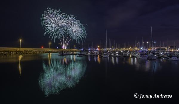 Bangor Fireworks Display by JonnyNI