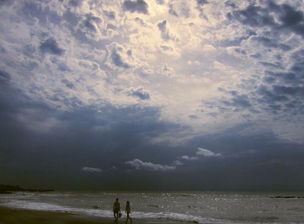 Storm Bathing by exposure