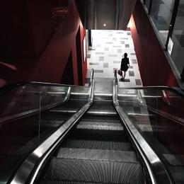 Down stair