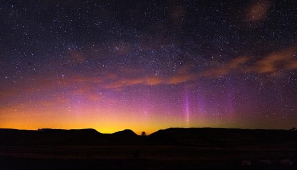Sycamore Gap Aurora by Nigeve1