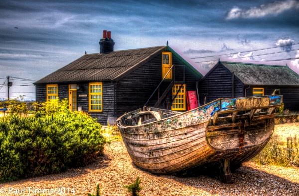 Derek Jarman Garden Prospect Cottage by CharingPaul
