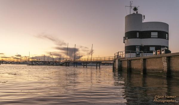 Hamble Harbour Masters office by IainHamer