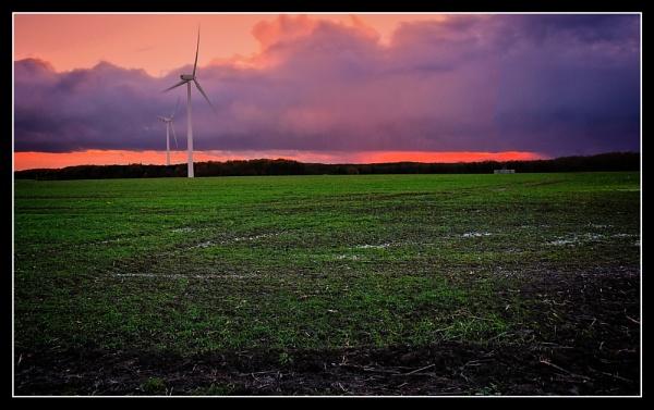 windmill farm by ossca