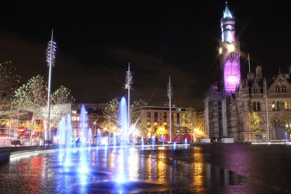 Bradford Nightscape by TeresaGraham