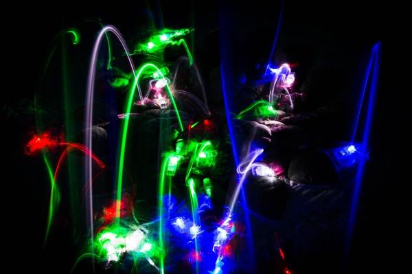 Jumping lights by JackAllTog