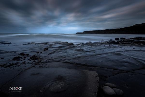 Blue Fossil Dawn by LDorey