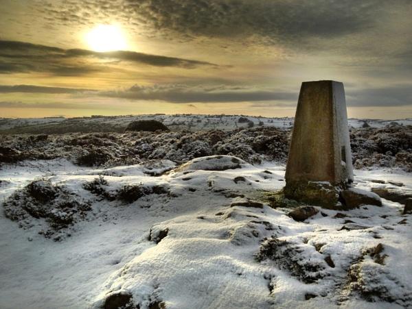 Winter Sunrise Stanton Moor by Legend147