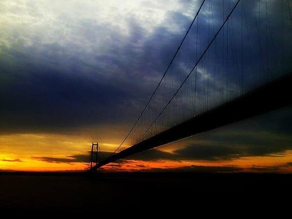 Humber Bridge November by DrTony24