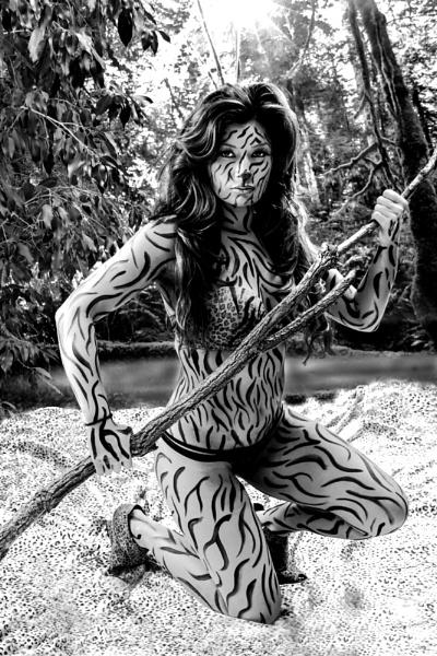 Tigress Woman by DCopper