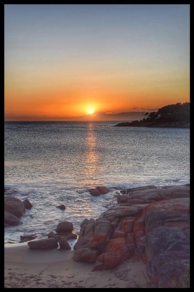 Tasmanian sunset by ColleenA