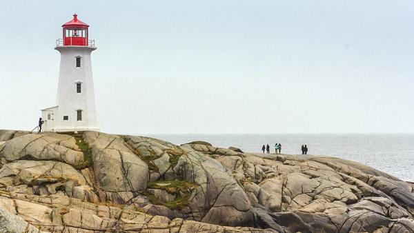 Peggy\'s Cove Light House, Nova Scotia Canada by arulramalingam