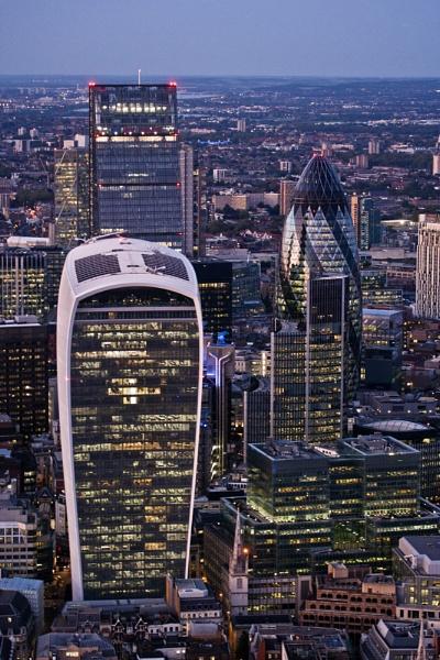 London Skyline by rontear