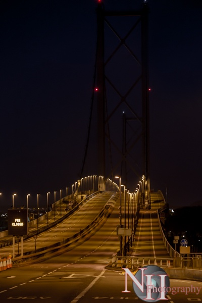 Road (-bridge) to nowhere... Forth Road Bridge by NH_Snap