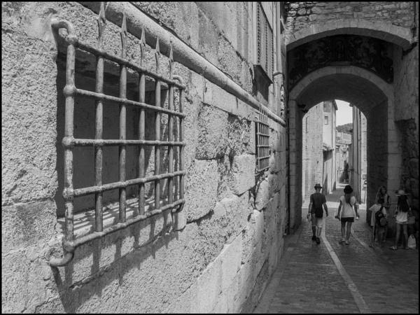 A Back Street in Girona by bwlchmawr