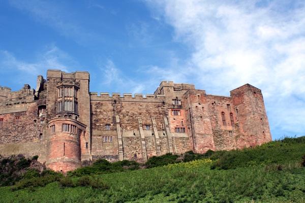 Bamburgh Castle, Northumberland. by pjohnson68