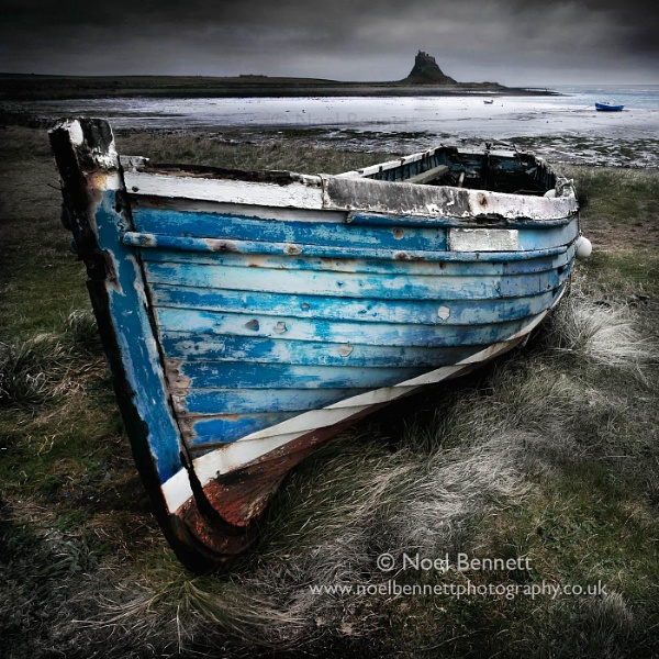 The Blue Boat by NoelBennettPhotography