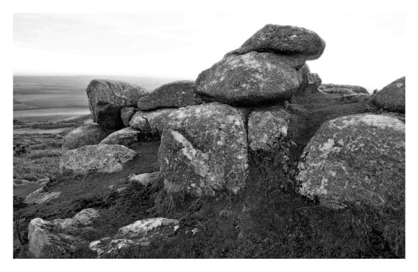 Cornish Granite, Chapel Carn Brea by Geoffphoto