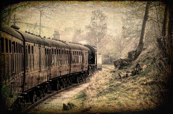 Steam Train by Loudon