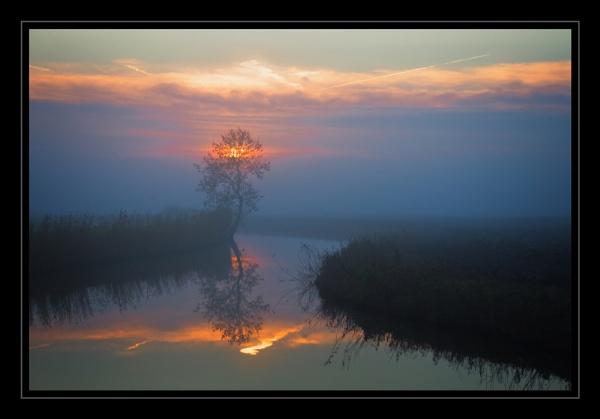 Mist & Sunset by Rende