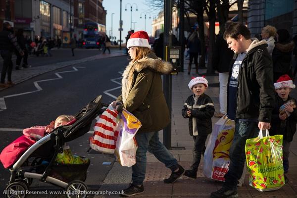 Family Christmas shopping by paul_indigo