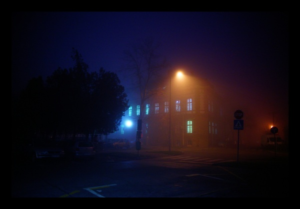 Foggy night coming by jovanovic