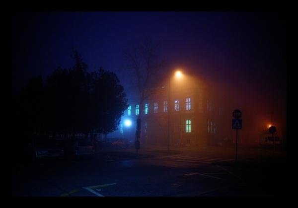 Foggy night coming by jovanovic