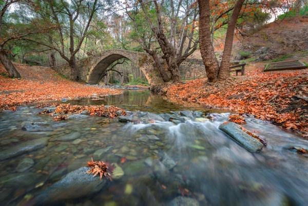 Tzelefos  medieval bridge by aeras