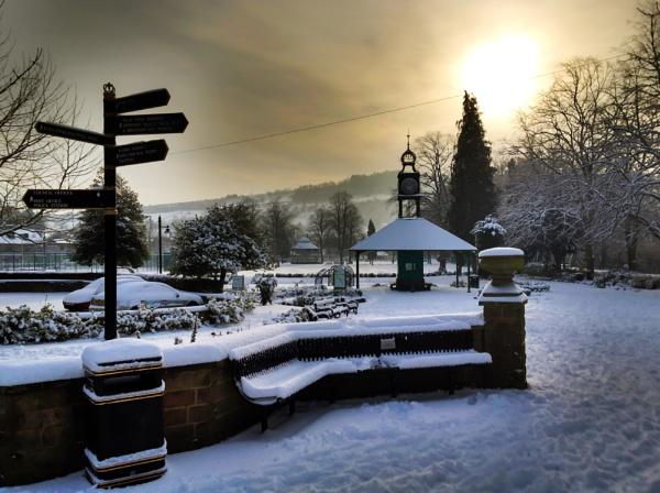 Matlock Winter Sunrise by Legend147
