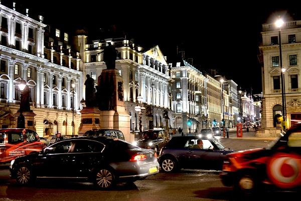 London Traffic and Buildings by Frank_Reid
