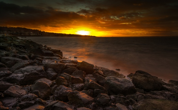 Sunrise over West Kirby by Brenty