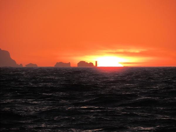 Sunrise over the Needles by steve_i