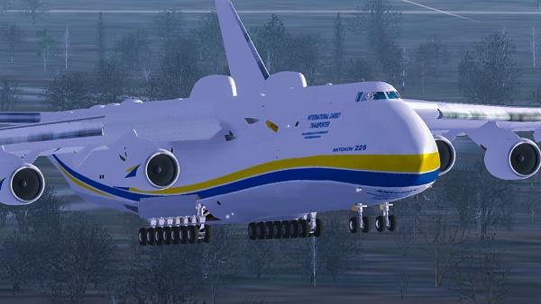 Antonov 225 by StrayCat